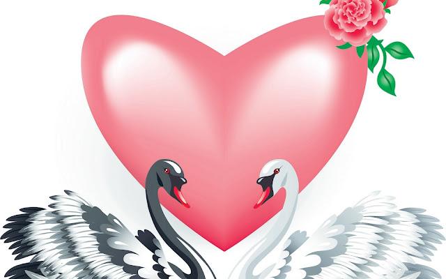 Bộ hình nền tình yêu trái tim cực đẹp cho các đôi yêu nhau