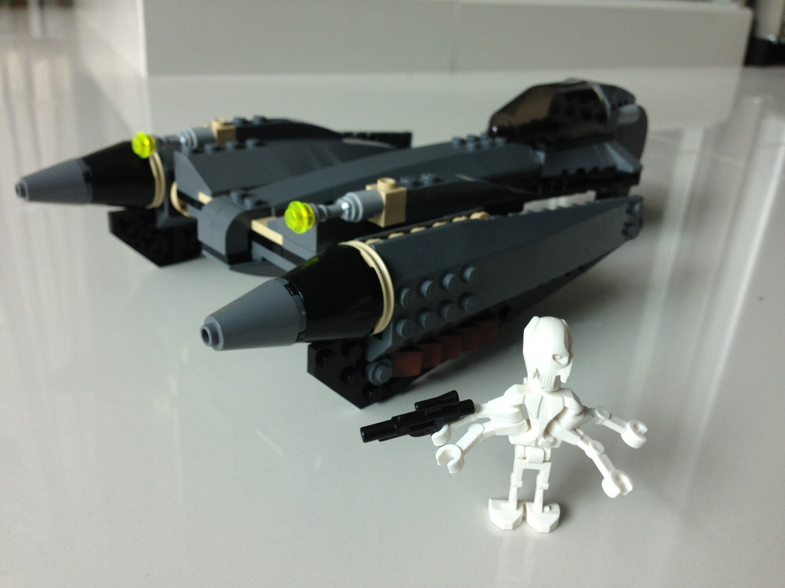 Lego Star Wars General Grievous Starfighter Review Lego ...