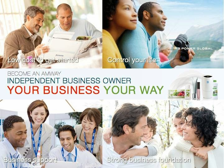 Amway Business Opportunity for People who seek to Build Business of Their Own