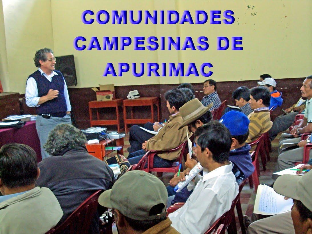 COMUNIDADES CAMPESINAS DE APURIMAC