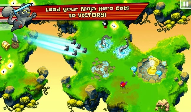 Ninja Hero Cats android apk Download