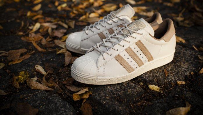 Adidas Superstar Beige Stripes