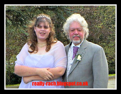 Me and my dad on my wedding day