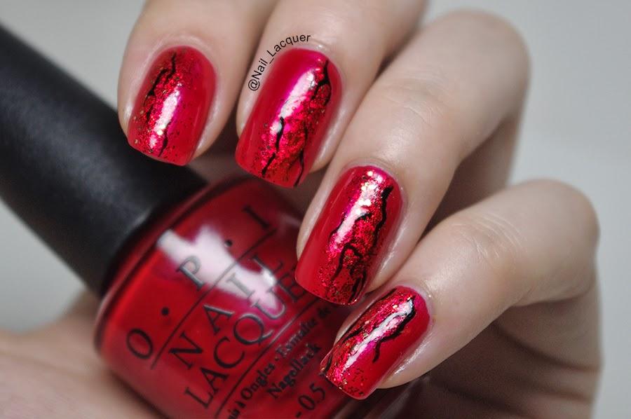 10 Amazing Red Nail Art Designhttp://nails-side.blogspot.com/