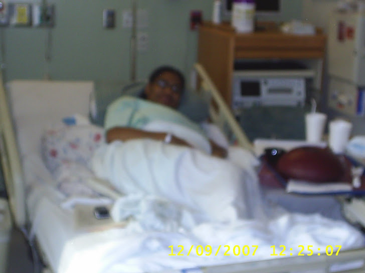 Mommy in the hospital