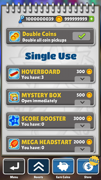Subway Surfer Unlimited Coins and Keys
