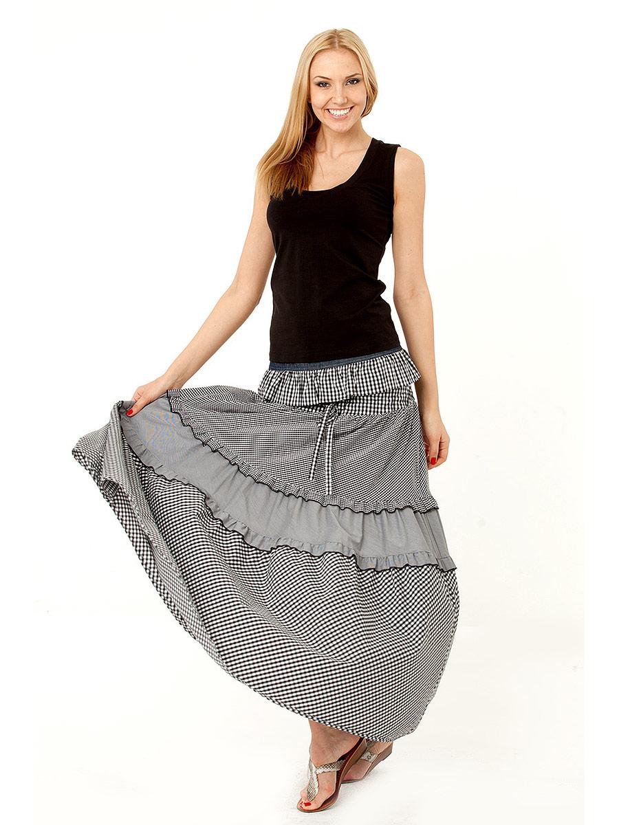 Как сшить многоярусную юбку в пол фото 554