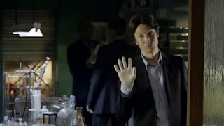 Anderson in 'A Study in Pink' BBC Sherlock