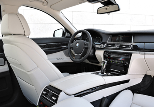 BMW 7 series inner view