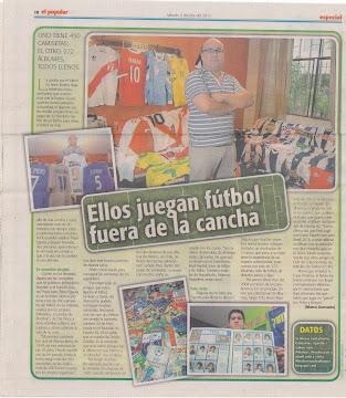 Entrevista Diario El Popular (Perú)