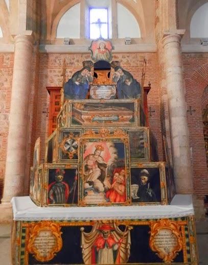 Catafalco de Iglesia Sta. María Magdalena en La Torre de Esteban Hambrán (Toledo)