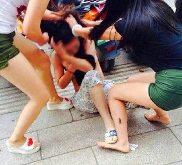 Asian Stripped In Public