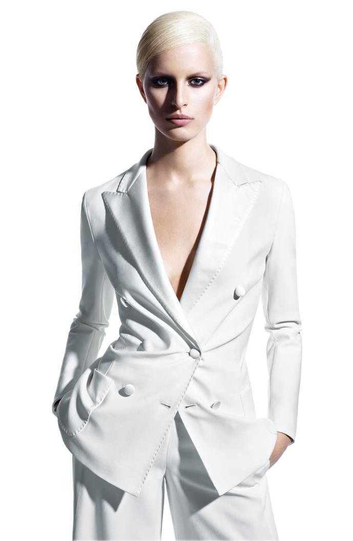 Karolina Kurkova stars in Max Mara Spring/Summer 2011 campaign photographed by Mario Sorrenti