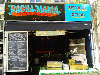 Pacha Mama mexican food stall museum of old and new art by stu dobell signs Australia