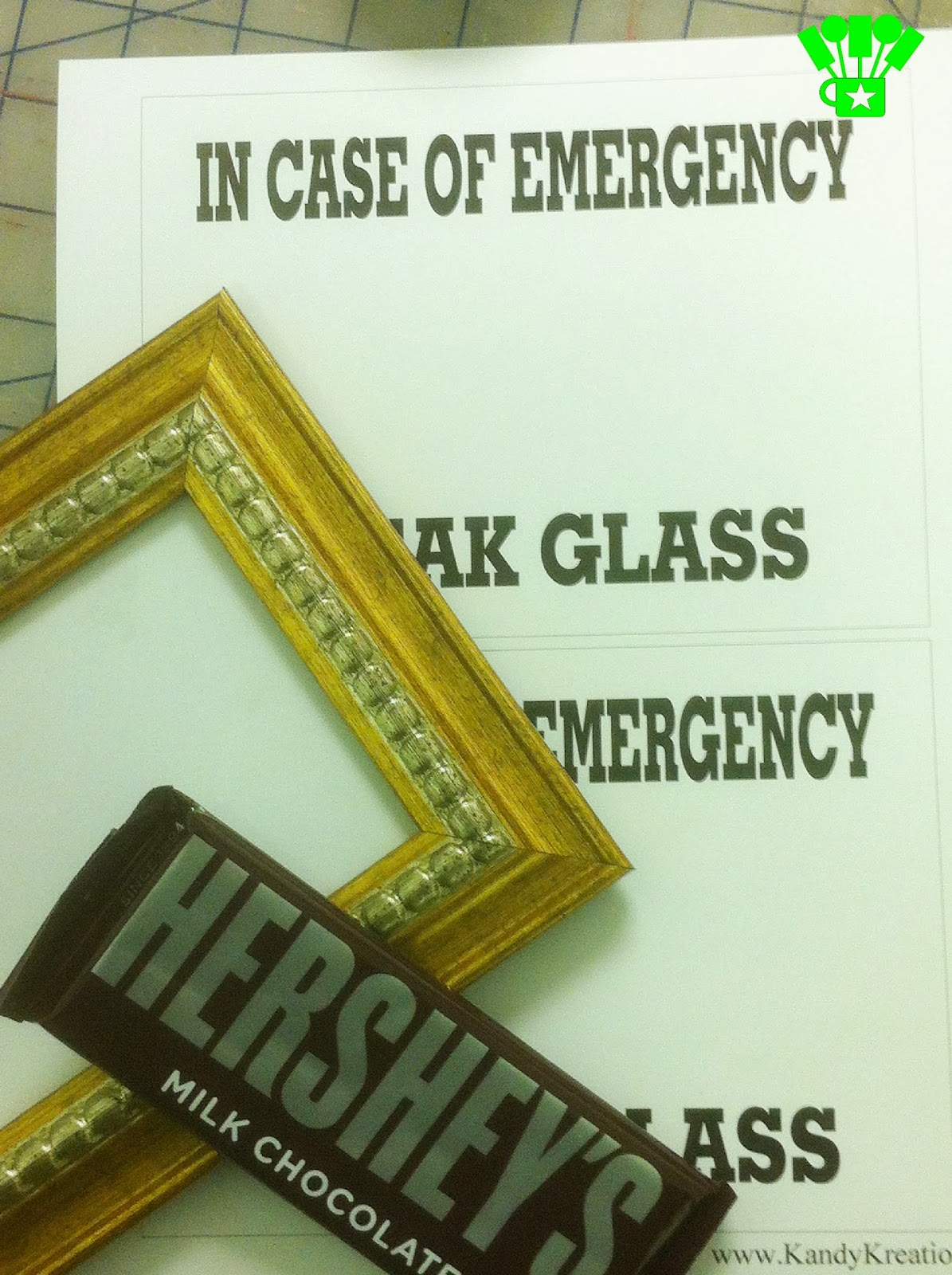 Chocolate Emergency Kit DIY