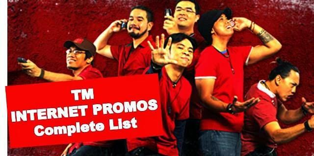 TM internet promo list