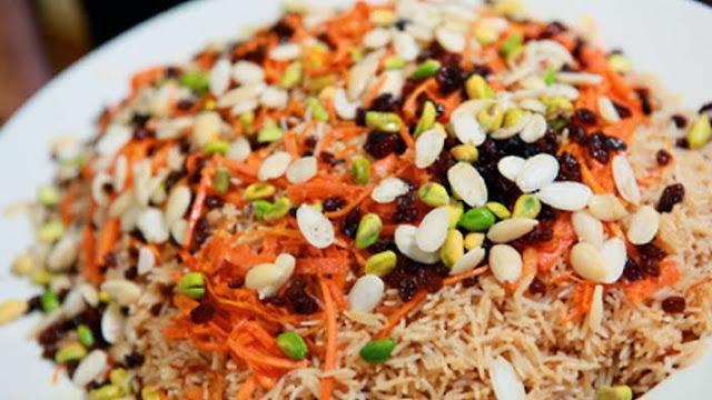 Afghan Kabuli Pilau Recipe