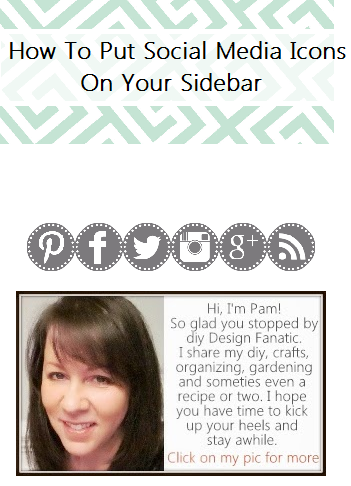 social media icons, social media icons, how to add social media icons to your sidebar