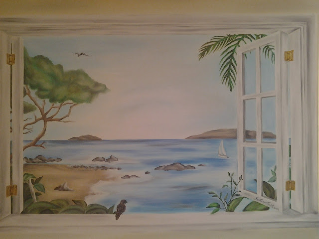 Maddalena santonocito art finestra sul mare - Quadro finestra ...