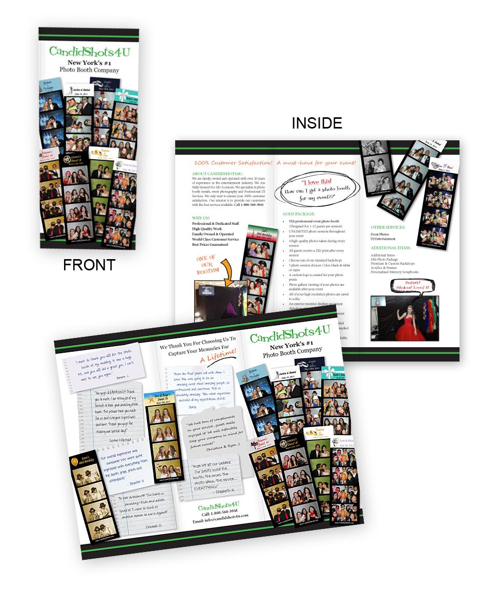 design studio brochure - bryson design studio brochure for photo booth company