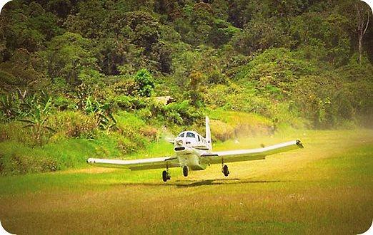 Pesawat PAC 750 Milik Komala alami Kecelakaan di Bandara Perintis Ninia