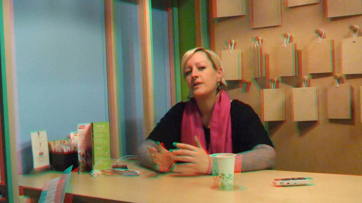 Alice Russell en 3D
