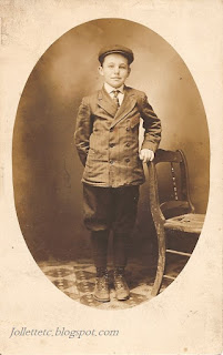 Orvin Owen Davis about 1910