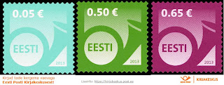 Estonia:  - Definitive Stamps. POSTHORN