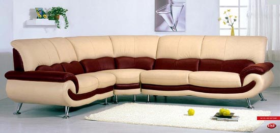 Leather for living room interior home design - Sofa design pictures ...