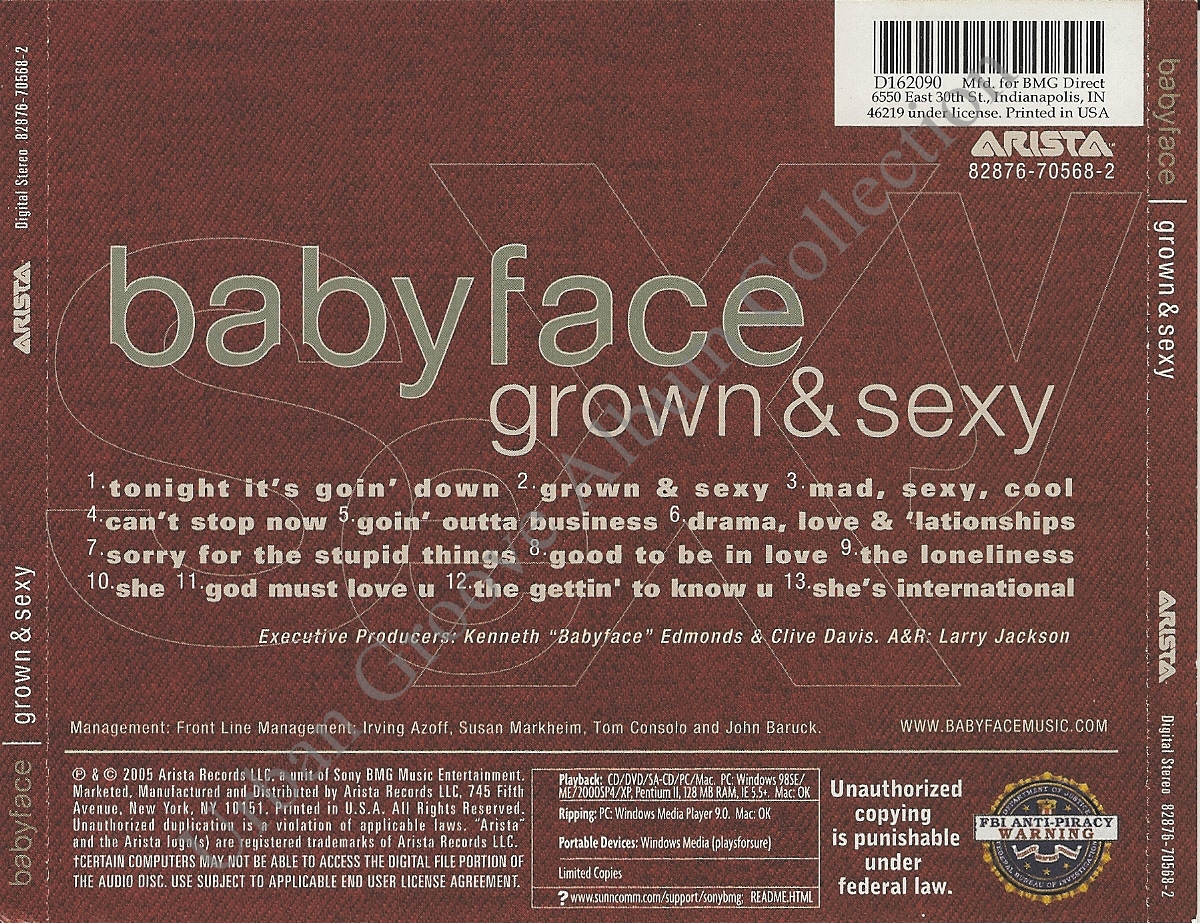 Letra Drama, Love & Lationships - Babyface - Album Grown