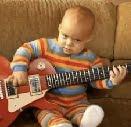 Budak 1 Tahun Main Gitar