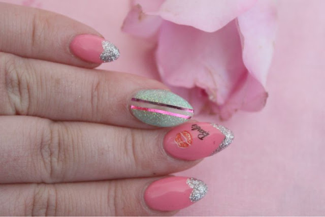 Trashy Barbie Nails