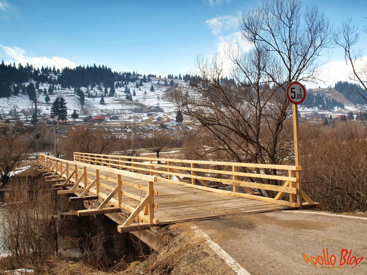 Pod de lemn Vagani Toplita