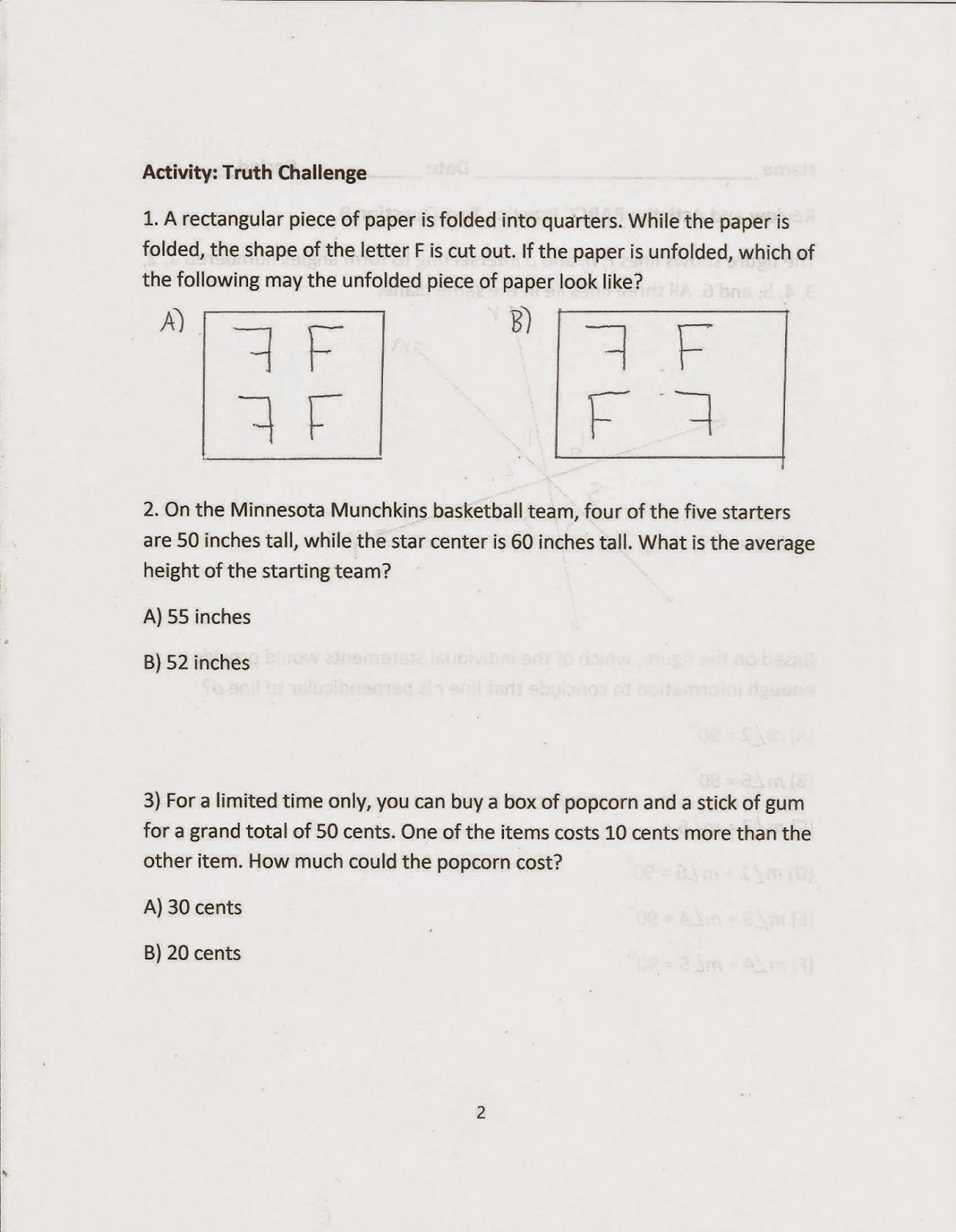 worksheet Parallel And Perpendicular Lines Worksheet slopes of parallel and perpendicular lines worksheet answers 3 8 math geometry common core style april 2015 lines