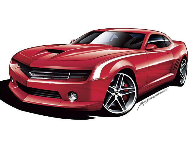 Chevrolet Camaro - 2006 | Supercar Sketches Gallery