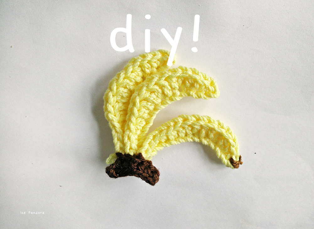 all pictures are taken with my mobile phone  ice pandora  diy  crochet banana  rh   icepandora
