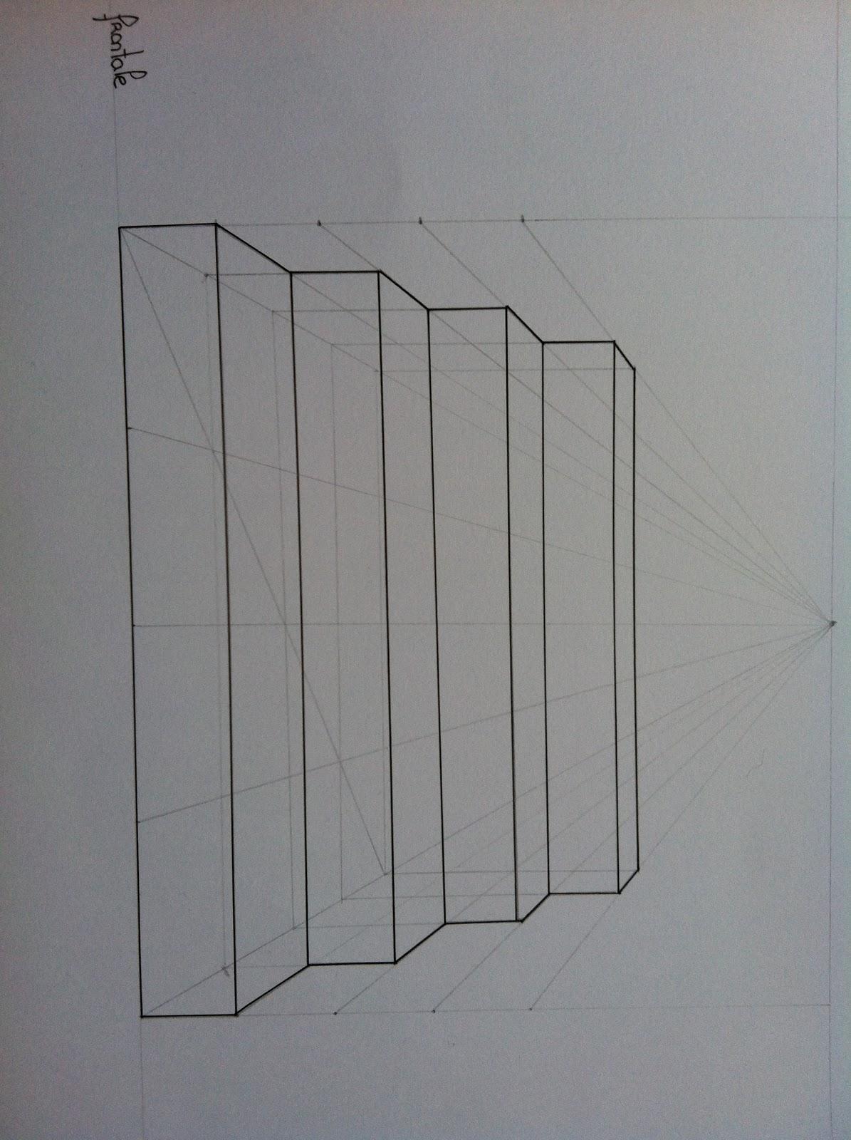 comment dessiner des escaliers de face. Black Bedroom Furniture Sets. Home Design Ideas