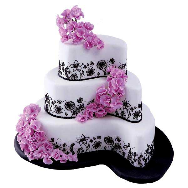 Violet and Black: Tortas de 15 años variadas