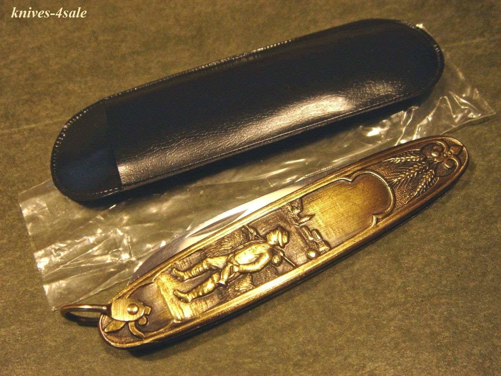 Solingen Germany  city images : knives 4sale: Arnex Solingen Germany Brass Deco Knife