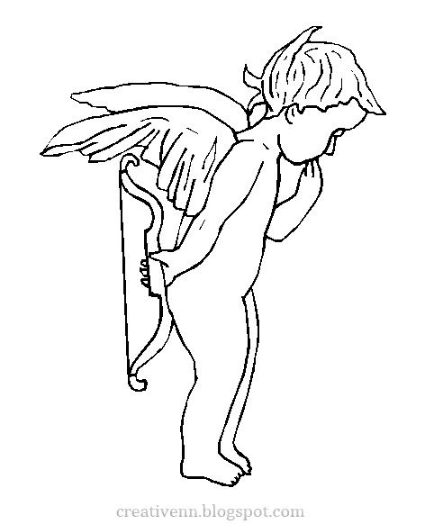 Открытка с ангелами своими руками