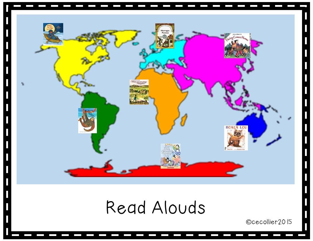 Teaching through Integration Maps and Globes in Kindergarten