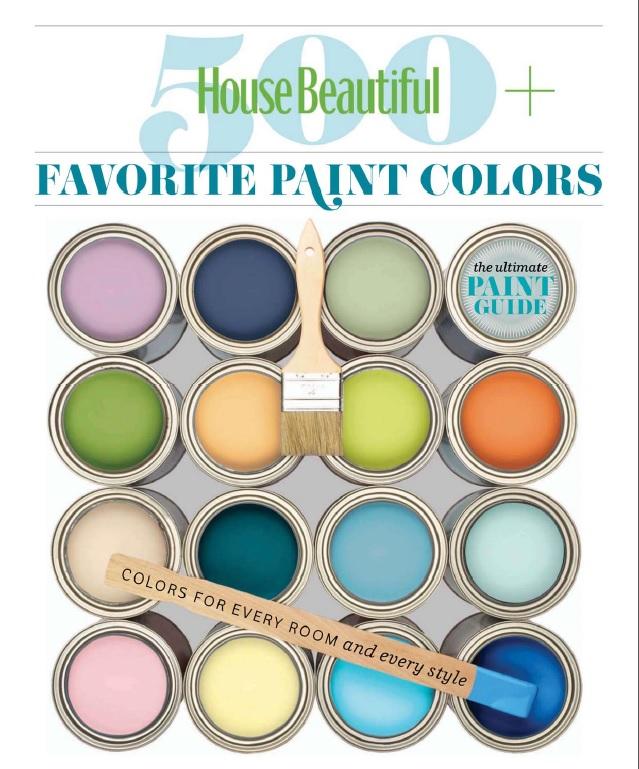 House Beautiful 500 Favorite Paint Colors Architecture