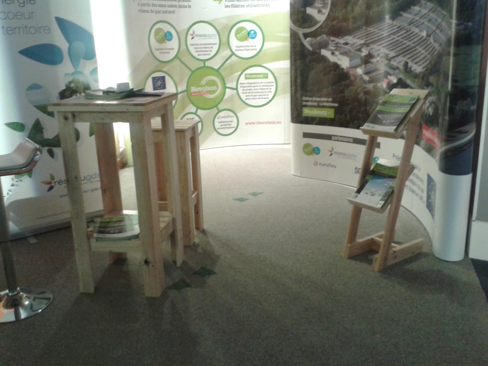 Stand meubles palettes La Ressource