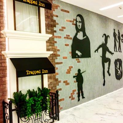 لعبة الهروب الكبير في فندق سيمفوني السالمية Trapped Inn