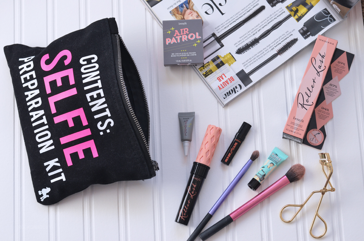 Rock On Ruby Make Up bag and Benefit Cosmetics