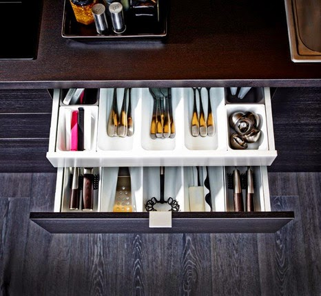 new IKEA kitchen drawer, design and reviews, Stimulating tools that make order