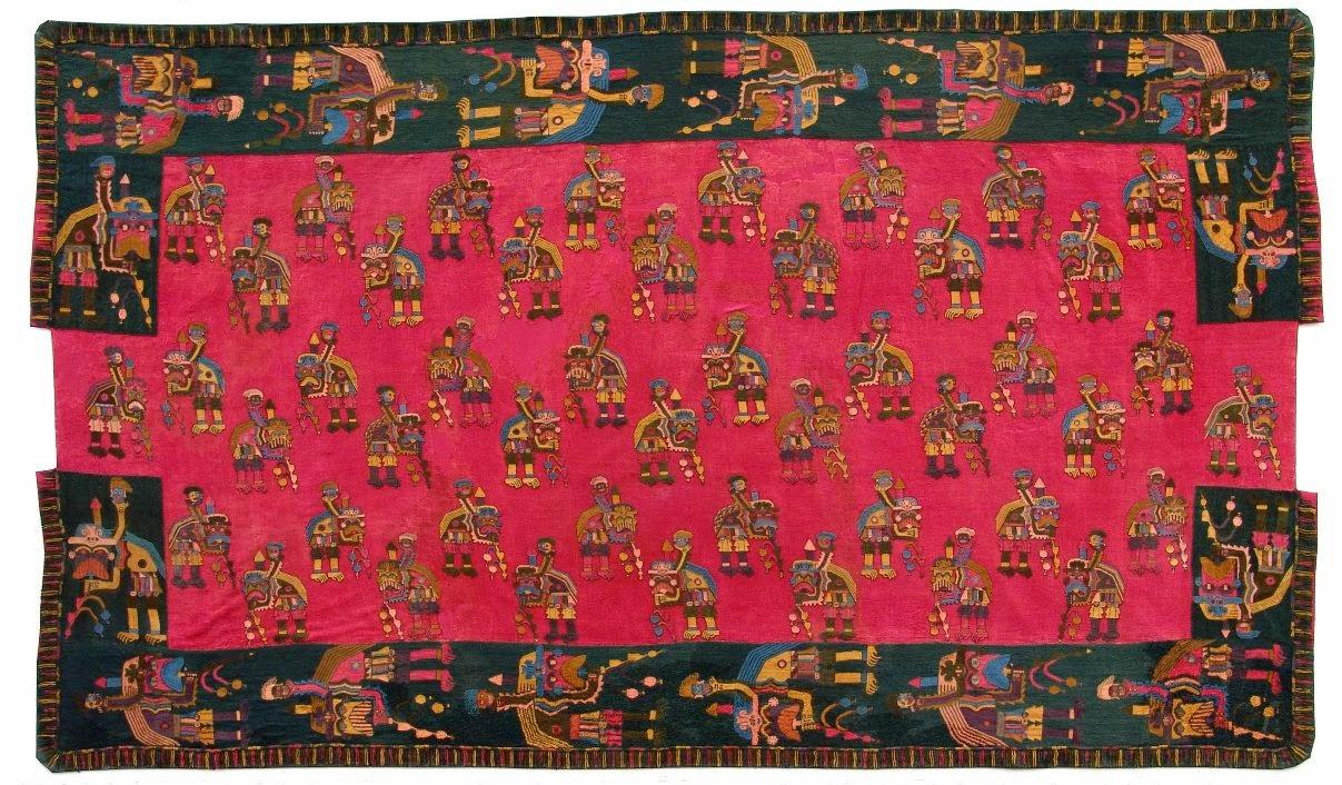 textiles de la cultura Paracas