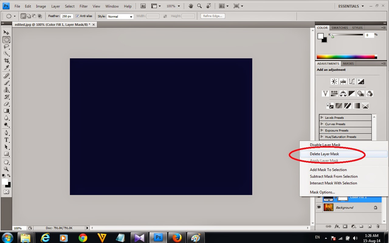 how to make a vignette in photoshop