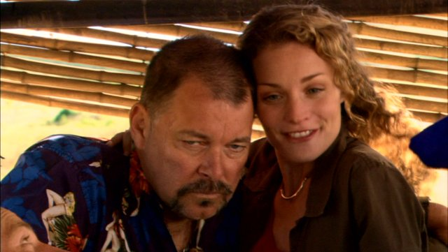 Jonathan Frakes and Lisa Brenner