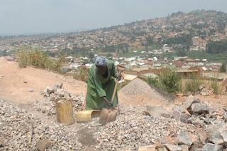 Stone quarry Africa Uganda